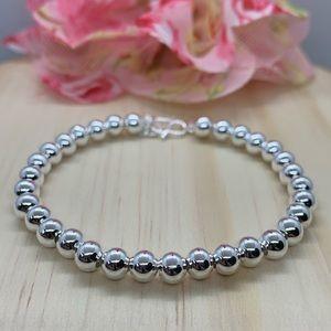 🌸Host Pick🌸 Petite S Silver 925 Beads Bracelet